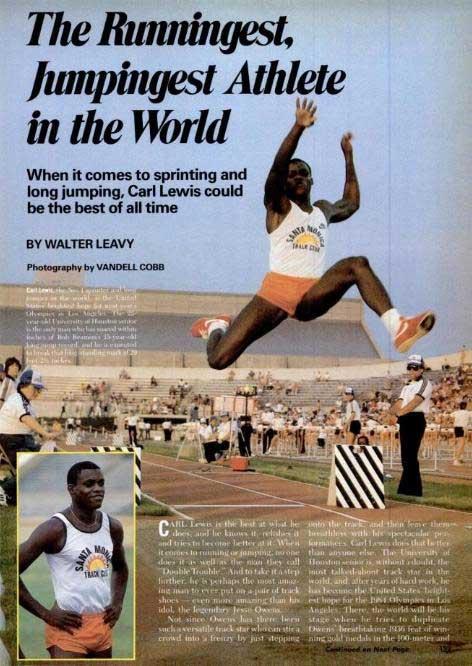 Carl Lewis 1983