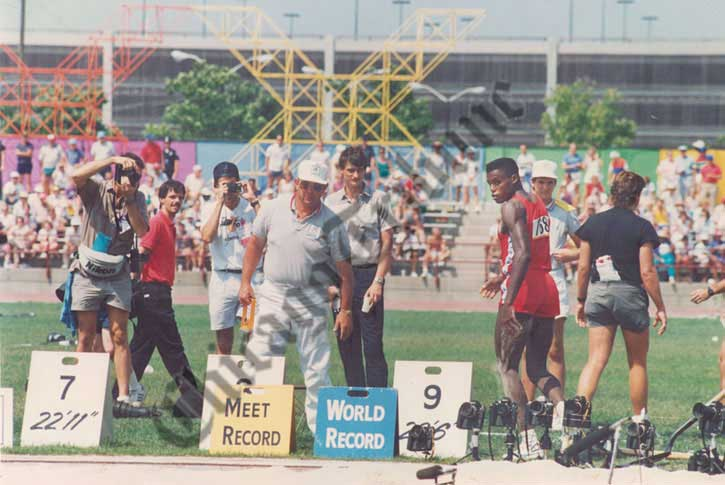 Carl Lewis Indianápolis 1987