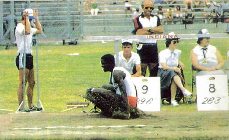 Carl Lewis Indianápolis 1983