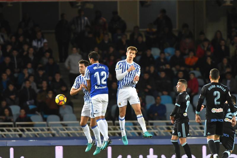 Real Sociedad vs celta-21.1.18-Donosti-Fotos José María López