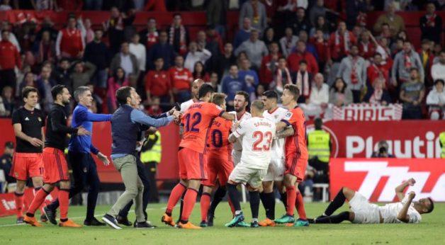 Encuentro entre el Sevilla y la Real Sociedad. EFE