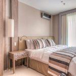 Dormitorio: vista en detalle del cabecero