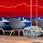 3-comedor azul-rojo piedra