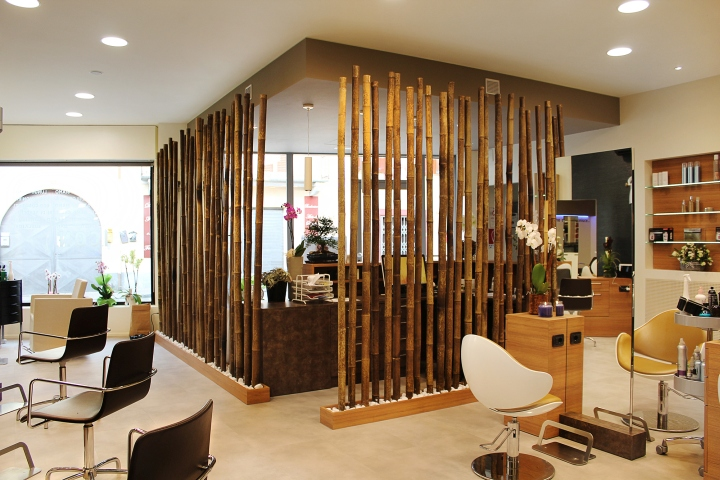 Bambu en la peluquer a la casa de cora - Bambu decoracion interior ...