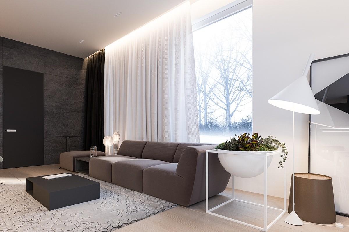 Minimalismo con detalles la casa de cora for Colores interiores casas minimalistas