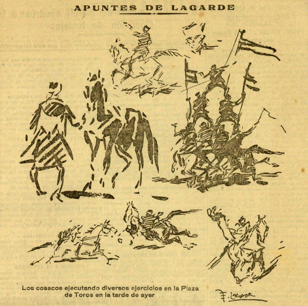 Los cosacos según Lagarde