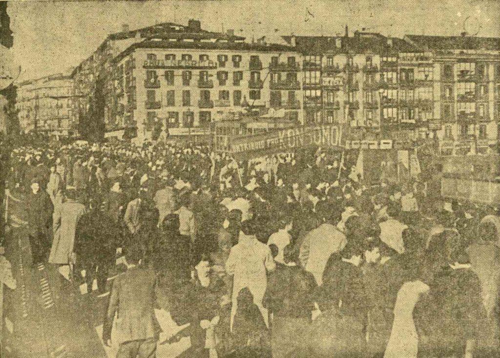 Una instantánea del desfile. Foto Euzkadi Roja.