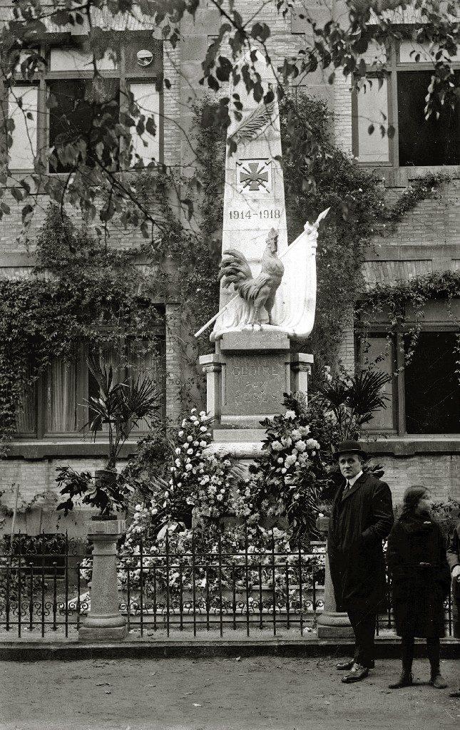 Monumento a los caídos por Francia. Guregipuzkoa.