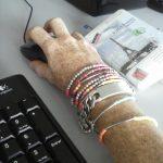 pulseras hippies