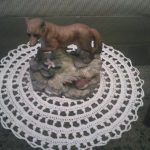 zorrito sobre tapete