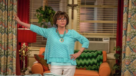 "Rita Moreno as Lydia in a scene from the television series ""One Day at a Time."" (Michael Yarish/Netflix/TNS)"