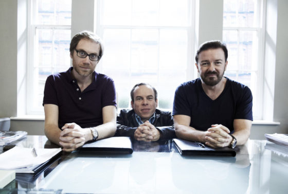 Life's Too Short - Generic - Pictures Show: Stephen Merchant, Warwick Davis, Ricky Gervais