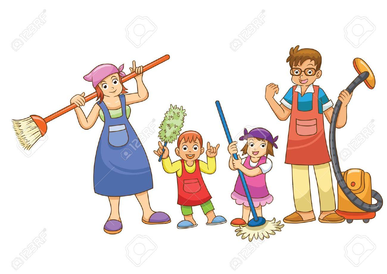 Colaboraci n de los ni os en casa el trampol n de tu vida for Concepto de la familia para ninos